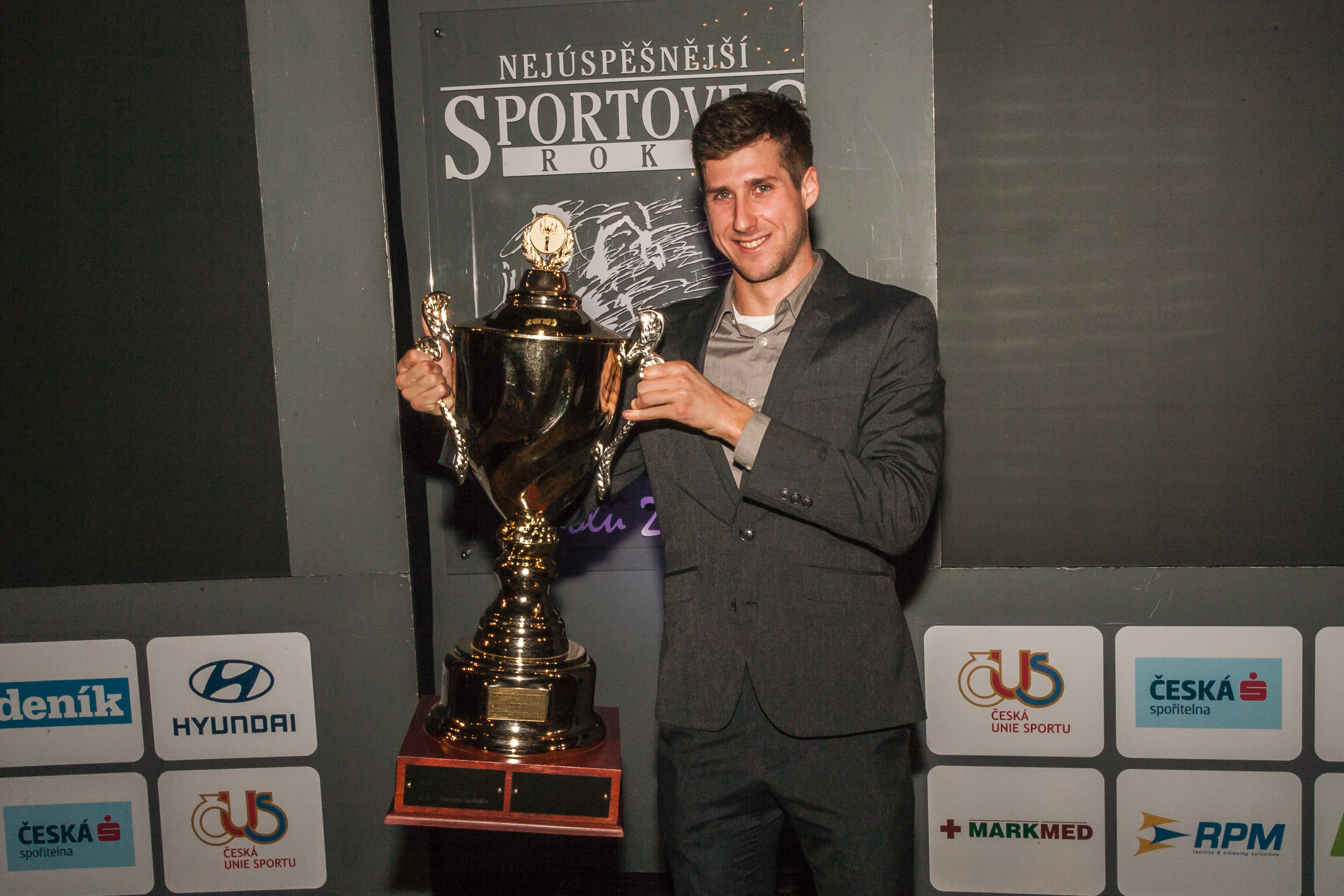 V anketě o nejúspěšnějšího sportovce zvítězil triatlonista František Linduška!