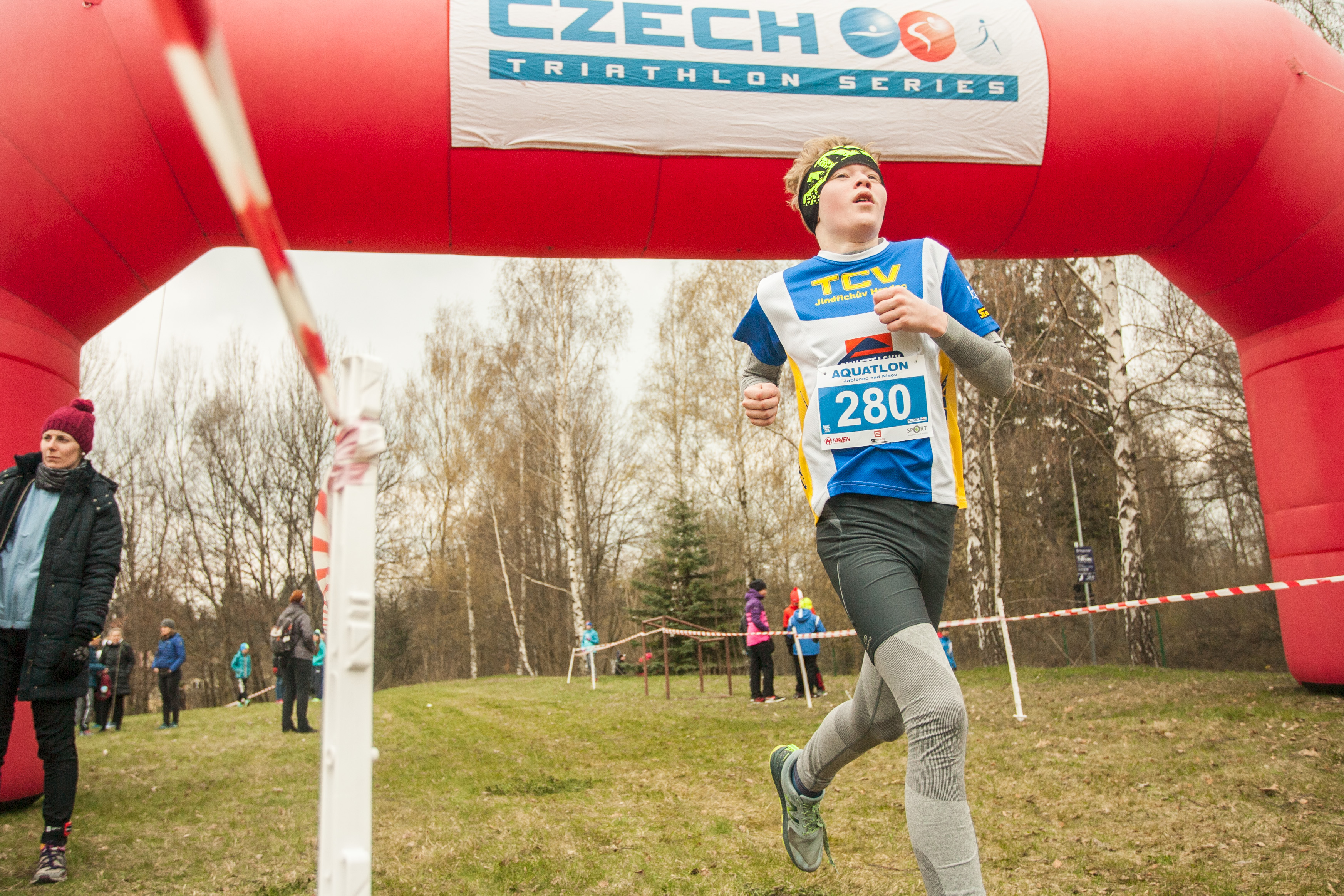 Mistrovství ČR a zároveň třetí závod aquatlonového poháru Jablonec nad Nisou