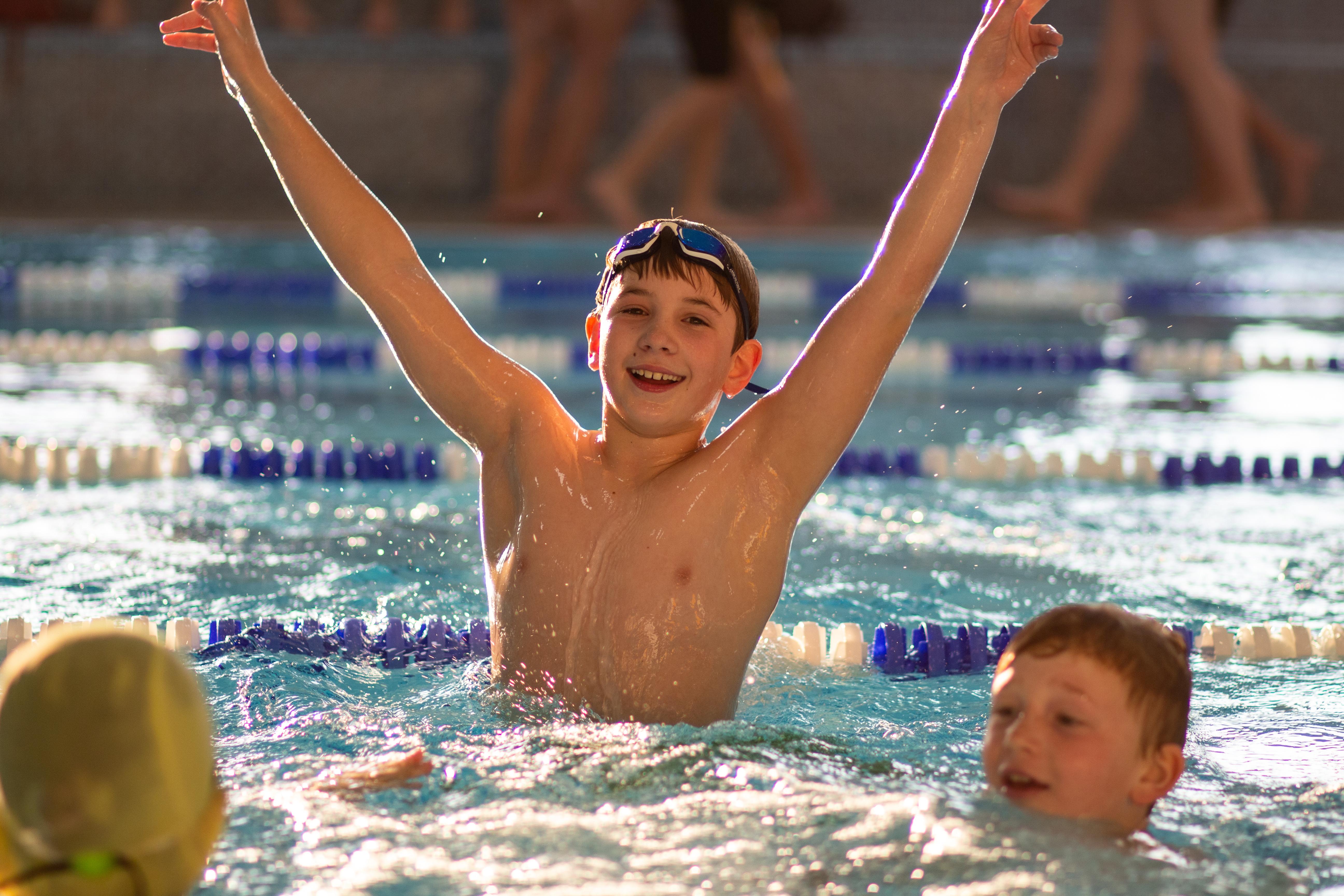 Vyhráli jsme Velikonoční plavecké štafety!