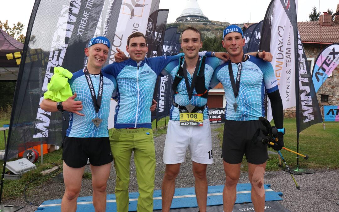 Jirka Fencl se stal součástí štafety na nejextrémnějším triatlonovém závodu na území ČR