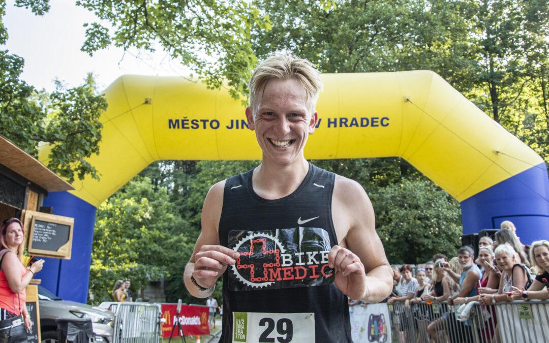 Triatlonista vyhrál Jindřichohradecký půlmaraton!